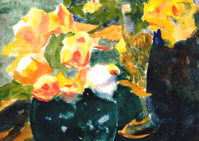 Autumn Roses by Bill Puryear