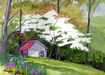 Kay's White Dogwood by Bill Puryear