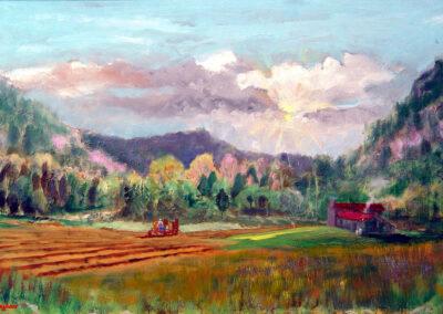 Spring Plowing by Bill Puryear